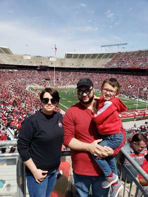 Joel attended Ohio State Life Sports Spring Game - NCAA Football on Apr 13th 2019 via VetTix