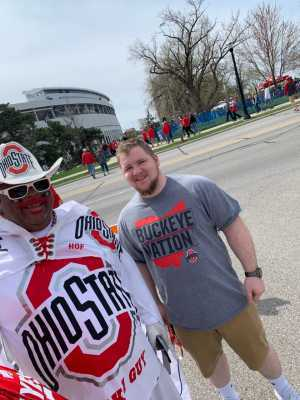 ItsOnlyWells attended Ohio State Life Sports Spring Game - NCAA Football on Apr 13th 2019 via VetTix