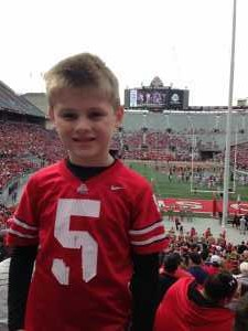 Bradley attended Ohio State Life Sports Spring Game - NCAA Football on Apr 13th 2019 via VetTix