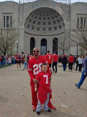 Mark attended Ohio State Life Sports Spring Game - NCAA Football on Apr 13th 2019 via VetTix