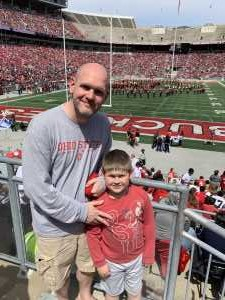 Paul attended Ohio State Life Sports Spring Game - NCAA Football on Apr 13th 2019 via VetTix