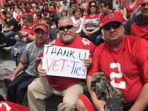 donald attended Ohio State Life Sports Spring Game - NCAA Football on Apr 13th 2019 via VetTix