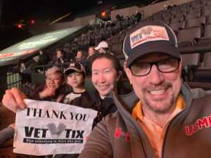 Robert attended Longines Masters New York - Horse Racing/speed Challenge - Session 1 on Apr 26th 2019 via VetTix