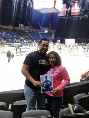 Mario attended Longines Masters New York - Horse Racing/speed Challenge - Session 1 on Apr 26th 2019 via VetTix
