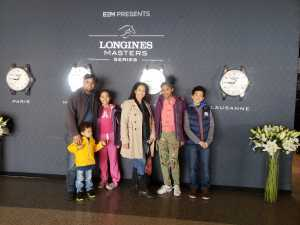 Jessica attended Longines Masters New York - Horse Racing/speed Challenge - Session 1 on Apr 26th 2019 via VetTix
