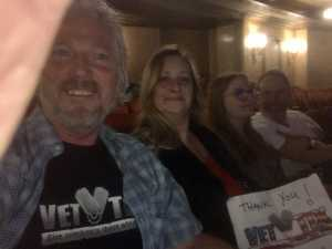 Roger attended Nick Mason's Saucerful of Secrets - Pop on Apr 19th 2019 via VetTix