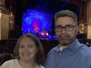 Jeffrey attended Nick Mason's Saucerful of Secrets - Pop on Apr 19th 2019 via VetTix