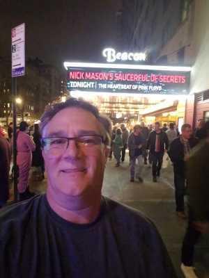 Warren attended Nick Mason's Saucerful of Secrets - Pop on Apr 19th 2019 via VetTix