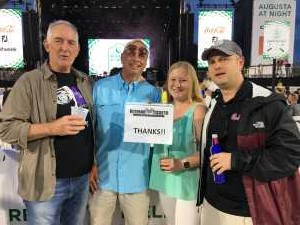 Russell attended Hootie and the Blowfish With Special Guest Sheryl Crow on Apr 12th 2019 via VetTix