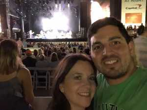 Taylor attended Hootie and the Blowfish With Special Guest Sheryl Crow on Apr 12th 2019 via VetTix