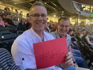 Thomas attended Hootie and the Blowfish With Special Guest Sheryl Crow on Apr 12th 2019 via VetTix