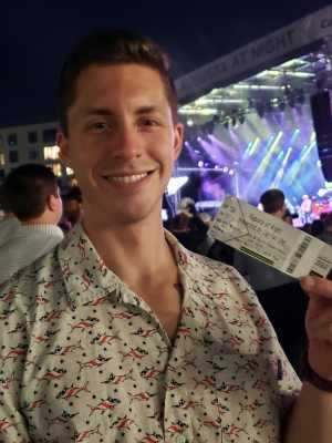 Nicholas attended Hootie and the Blowfish With Special Guest Sheryl Crow on Apr 12th 2019 via VetTix