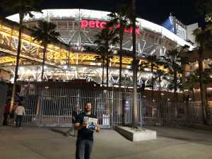 Jared attended San Diego Padres vs. Cincinnati Reds - MLB on Apr 18th 2019 via VetTix