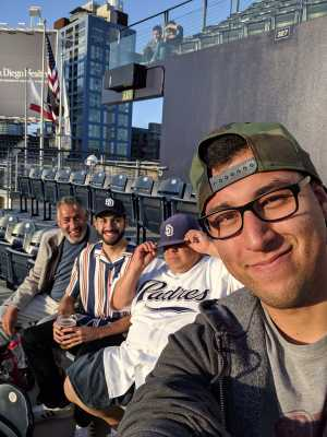 Armando attended San Diego Padres vs. Cincinnati Reds - MLB on Apr 18th 2019 via VetTix