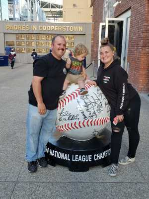 Michael attended San Diego Padres vs. Cincinnati Reds - MLB on Apr 18th 2019 via VetTix