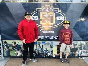 Ricardo attended San Diego Padres vs. Cincinnati Reds - MLB on Apr 18th 2019 via VetTix