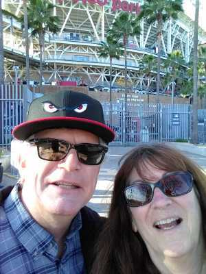 Patricia attended San Diego Padres vs. Cincinnati Reds - MLB on Apr 18th 2019 via VetTix