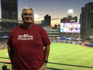 rodolfo attended San Diego Padres vs. Cincinnati Reds - MLB on Apr 18th 2019 via VetTix