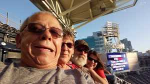 Ricky attended San Diego Padres vs. Cincinnati Reds - MLB on Apr 18th 2019 via VetTix