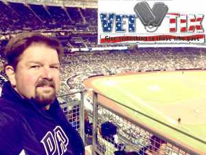 JASON BOURNE  attended San Diego Padres vs. Cincinnati Reds - MLB on Apr 18th 2019 via VetTix