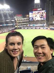 david attended San Diego Padres vs. Cincinnati Reds - MLB on Apr 18th 2019 via VetTix