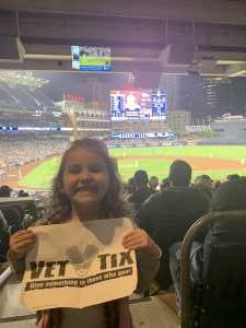 nicholas attended San Diego Padres vs. Cincinnati Reds - MLB on Apr 18th 2019 via VetTix