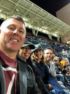 Brenda attended San Diego Padres vs. Cincinnati Reds - MLB on Apr 18th 2019 via VetTix