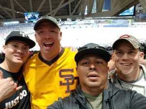 Jorge attended San Diego Padres vs. Cincinnati Reds - MLB on Apr 18th 2019 via VetTix