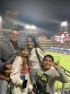 Pedro attended San Diego Padres vs. Cincinnati Reds - MLB on Apr 18th 2019 via VetTix