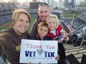 Paul attended San Diego Padres vs. Seattle Mariners - MLB on Apr 23rd 2019 via VetTix