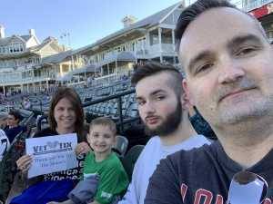 david attended Frisco RoughRiders vs. Midland RockHounds - MiLB on Apr 20th 2019 via VetTix