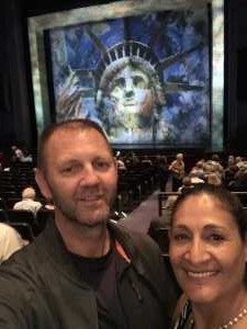 Rosa Osborn, USMC Retired  attended Ragtime Performed by Theatre Under the Stars on Apr 16th 2019 via VetTix