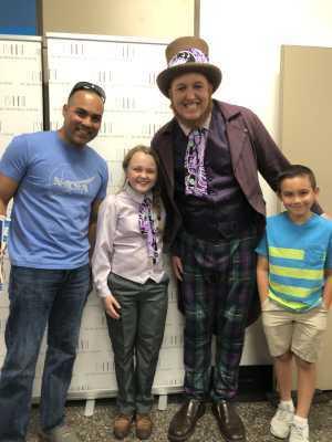 Edwin attended Roald Dahl's Willy Wonka - Sunday Matinee on Apr 14th 2019 via VetTix