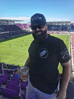 Jason attended Orlando City SC vs. Vancouver Whitecaps FC - MLS on Apr 20th 2019 via VetTix