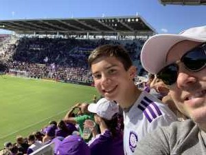 Paul attended Orlando City SC vs. Vancouver Whitecaps FC - MLS on Apr 20th 2019 via VetTix