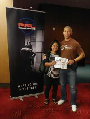 Jandre attended Professional Fighters League MMA - Tracking Attendance - Live Mixed Martial Arts on Jul 11th 2019 via VetTix