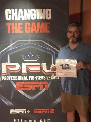 Matthew attended Professional Fighters League MMA - Tracking Attendance - Live Mixed Martial Arts on Jul 11th 2019 via VetTix