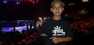 RAY attended Professional Fighters League MMA - Tracking Attendance - Live Mixed Martial Arts on Jul 11th 2019 via VetTix