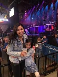 vanna attended Derek Hough Live Tour on Apr 27th 2019 via VetTix