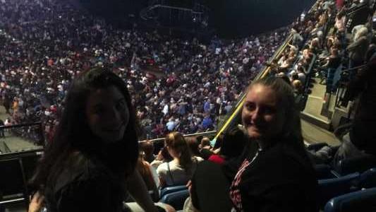 Holli attended Derek Hough Live Tour on Apr 27th 2019 via VetTix
