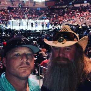 William attended UFC 236 - Mixed Martial Arts on Apr 13th 2019 via VetTix
