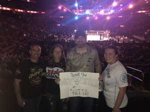 N&S Hutto attended UFC 236 - Mixed Martial Arts on Apr 13th 2019 via VetTix