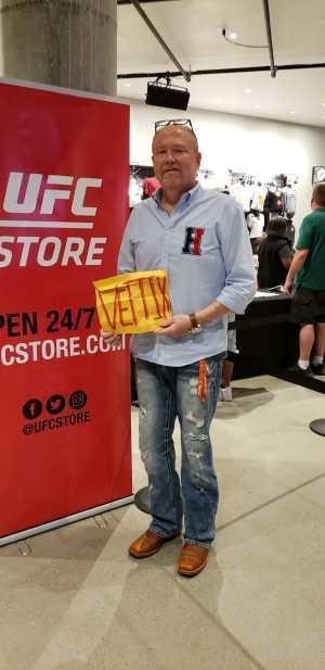 Brian attended UFC 236 - Mixed Martial Arts on Apr 13th 2019 via VetTix