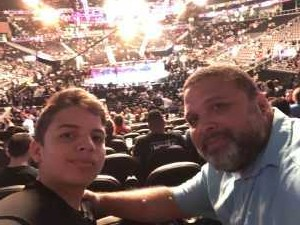Efrain attended UFC 236 - Mixed Martial Arts on Apr 13th 2019 via VetTix