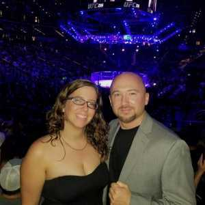 James attended UFC 236 - Mixed Martial Arts on Apr 13th 2019 via VetTix