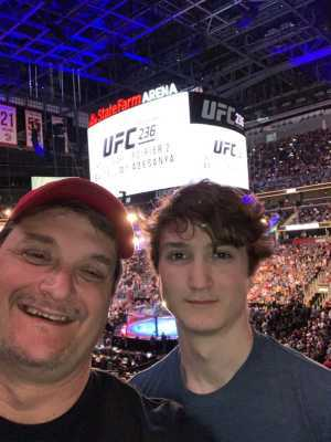 Ralph attended UFC 236 - Mixed Martial Arts on Apr 13th 2019 via VetTix