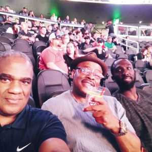 Geoffrey  attended UFC 236 - Mixed Martial Arts on Apr 13th 2019 via VetTix