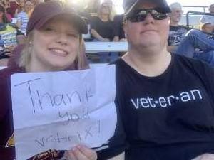 Michael attended Honor Row - Arizona State University vs. Cal - NCAA Women's Softball on May 3rd 2019 via VetTix