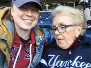 Aleea attended New York Yankees vs. Boston Red Sox - MLB on Apr 17th 2019 via VetTix