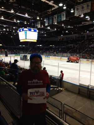 Thomas attended Rochester Americans vs Toronto Marlies - Playoffs - North Division Semifinals - Game One - AHL on Apr 19th 2019 via VetTix